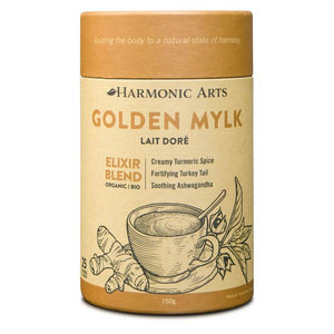 Harmonic Arts Golden Mylk Elixir Blend