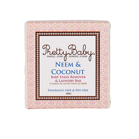Pretty Baby Neem & Coconut Laundry Bar