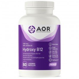 AOR Hydroxy B12 60 Lozenges