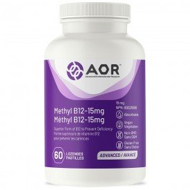 AOR Methyl B12 – 15 mg 60 Lozenges