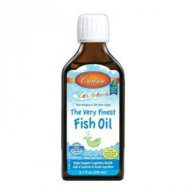 Carlson Kids The Very Finest Fish Oil Lemon 200mL