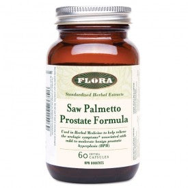 Flora Saw Palmetto Prostate Formula 60 Softgels