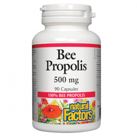 Natural Factors Bee Propolis 500mg 90 Capsules