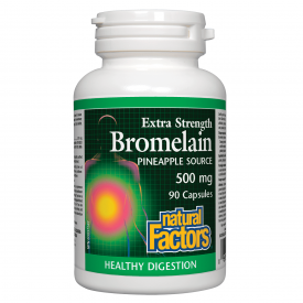Natural Factors Bromelain Pineapple Capsules
