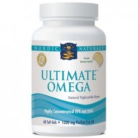 Nordic Naturals Ultimate Omega Lemon 60 Softgels