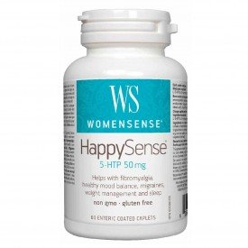 WomenSense Happy Sense 5-HTP 50mg 60 caplets