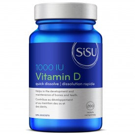 Sisu Vitamin D3 1000 IU 200 Tablets