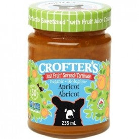Crofter's Organic Just Fruit Spread Apricot 235mL