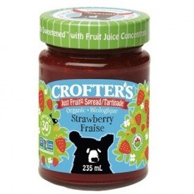 Crofter's Organic Just Fruit Spread Strawberry 235mL