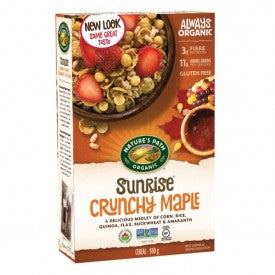 Nature's Path Organic Cereal Sunrise Crunchy Maple 300g