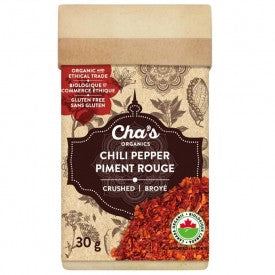 Cha's Organics Chili Pepper Crushed 30g