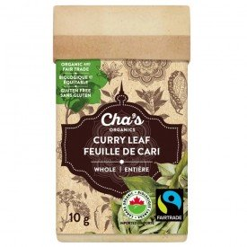 Cha's Organics Curry Leaf Whole 10g