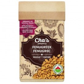 Cha's Organics Fenugreek Whole 30g