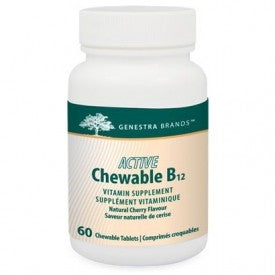 Genestra Active Chewable B12 60 Chewable Tablets