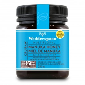 Wedderspoon Raw Multifloral Manuka Honey KFactor 12