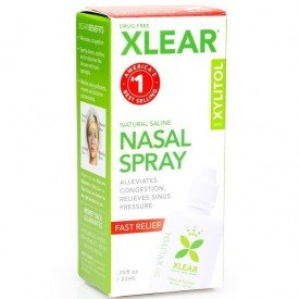 Xlear Natural Saline Nasal Spray 22mL