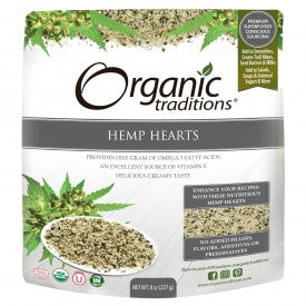 Organic Traditions Organic Hemp Hearts 227g