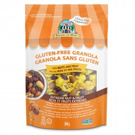 Bakery On Main Gluten Free Granola, Extreme Nut & Fruit 340g