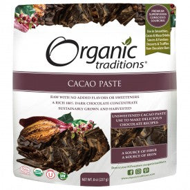 Organic Traditions Organic Cacao Paste 227g