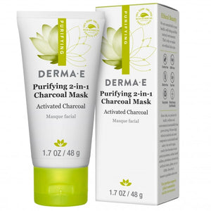 Derma E Purifying 2-in-1 Charcoal Mask 48g