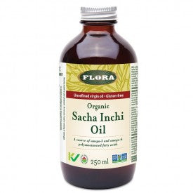 Flora Sacha Inchi Oil Organic 250mL