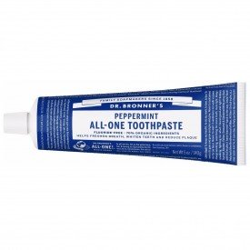 Dr. Bronner's All-One Toothpaste Peppermint 140g