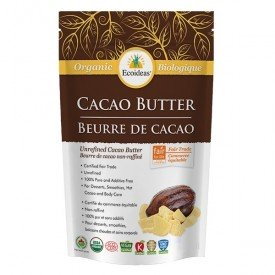 Ecoideas Cacao Butter Organic Fair Trade 454g