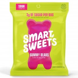 Smart Sweets Gummy Bears Sour 50g