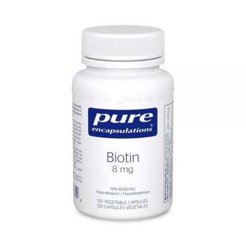 Pure Encapsulations Biotin 8mg 120 Veggie Caps