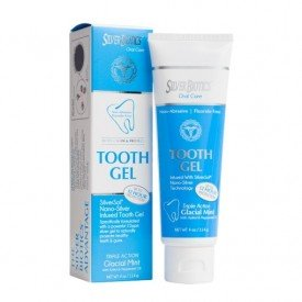 Silver Biotics Tooth Gel Glacial Mint 114g