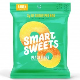 Smart Sweets Peach Rings Tangy 50g