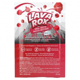 AOR Lava Rox Oral-Biotic Raspberry 24 Counts