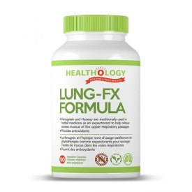 Healthology Lung-FX Formula 60 Veggie Caps