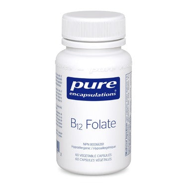 Pure Encapsulations B12 Folate 60 vcaps