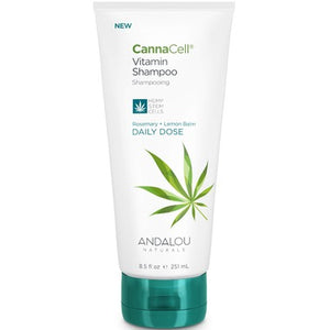 Andalou Naturals CannaCell Vitamin Shampoo Daily Dose Lemon & Rosemary
