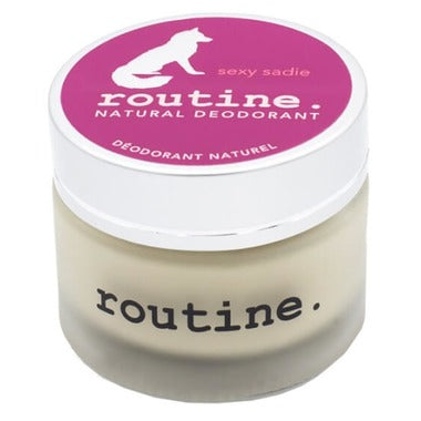 Routine De-Odor-Cream Natural Deodorant in Sexy Sadie Scent 58g