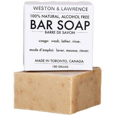 Weston & Lawrence Bar Soap