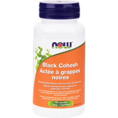 NOW Foods Black Cohosh Extract  80mg 90 caps