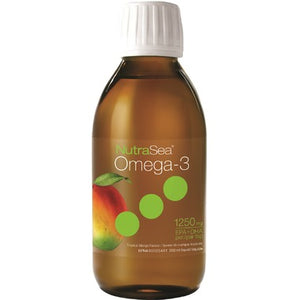 NutraSea Omega-3 Liquid tropical mango