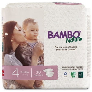 Bambo Nature Premium Baby Diapers Size 4
