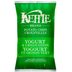 Kettle Yogurt & Green Onion Potato Chips 220g