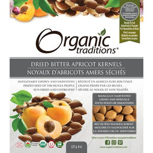 Organic Traditions Dried Bitter Apricot Kernels 227