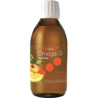 NutraSea DHA High DHA Omega-3 Liquid Juicy Citrus Flavour