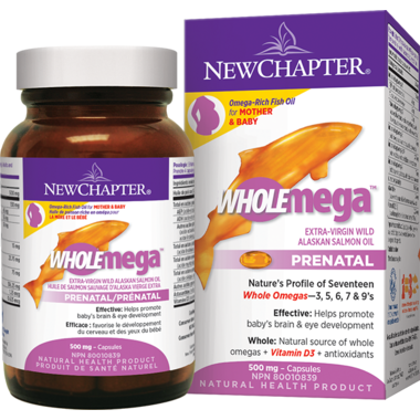 New Chapter Wholemega Prenatal