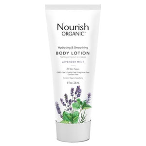 Nourish Organic Hydrating Body Lotion Lavender Mint