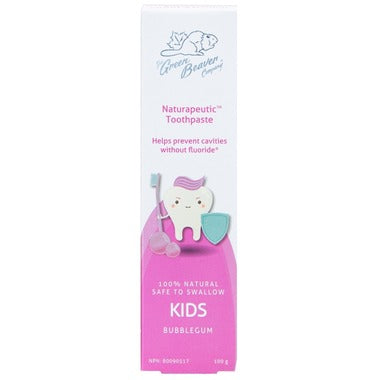 Green Beaver Kids Toothpaste Bubblegum