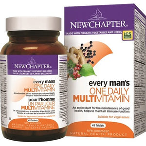 New Chapter Every Man's One Daily Vitamin & Mineral Supplement