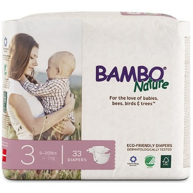 Bambo Nature Premium Baby Diapers Size 3