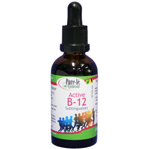 Pure-le Natural Active B-12 Sublingual Drops 1000mcg