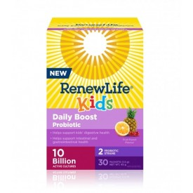 Renew Life Kids Daily Boost Probiotic 10 Billion 30 Packs